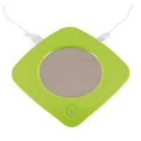 Heat it USB bögremelegítő rozsdamentes acél melegítő felülettel, zöld